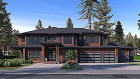 Plan Number 81953 - 5765 Square Feet