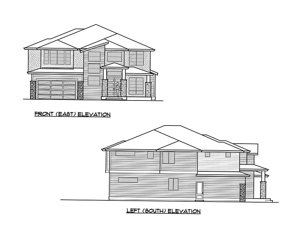Contemporary, Modern House Plan 81959 with 5 Beds, 5 Baths, 2 Car Garage Picture 3