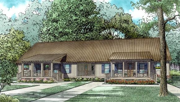 Multi-Family Plan 82307 with 6 Beds, 4 Baths Elevation