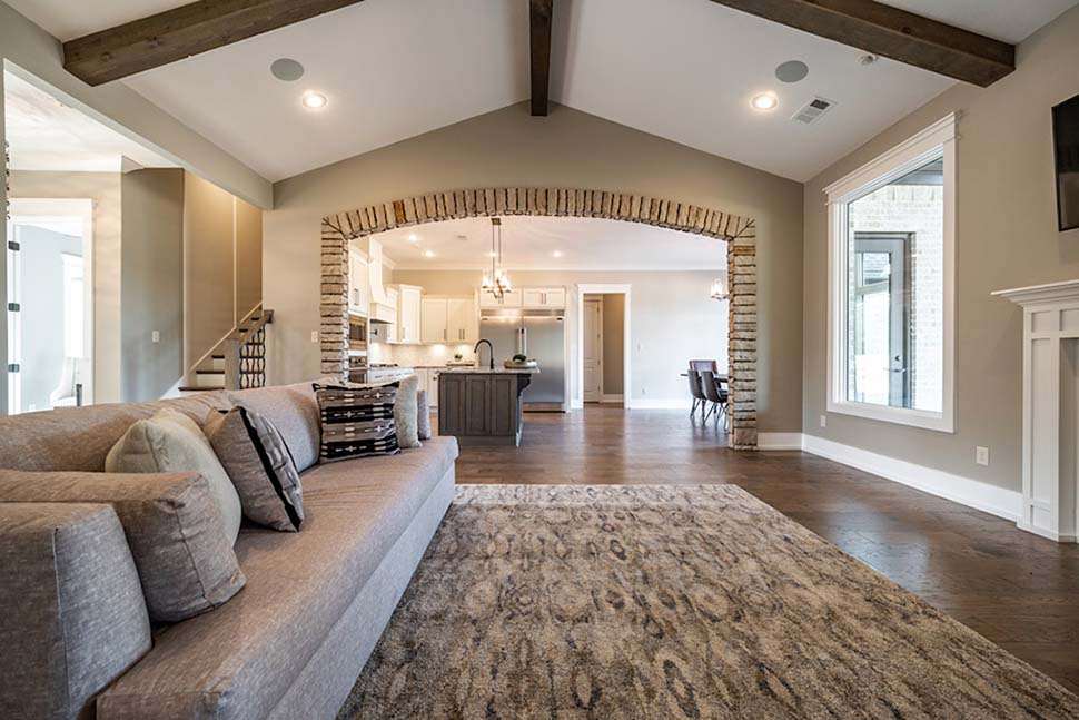 Bungalow, Craftsman, European, French Country House Plan 82475 with 4 Beds, 3 Baths, 2 Car Garage Picture 6