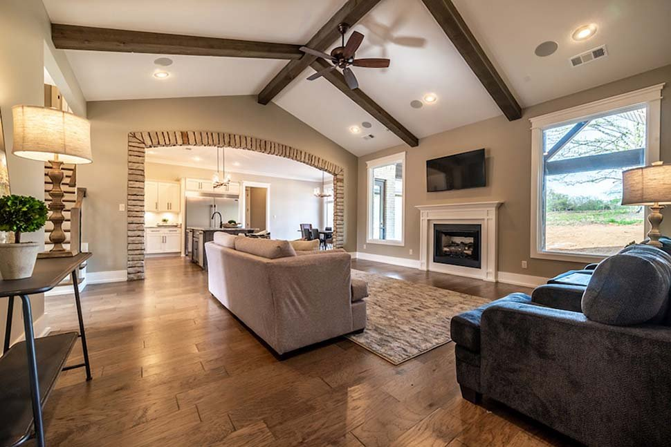 Bungalow, Craftsman, European, French Country House Plan 82475 with 4 Beds, 3 Baths, 2 Car Garage Picture 8