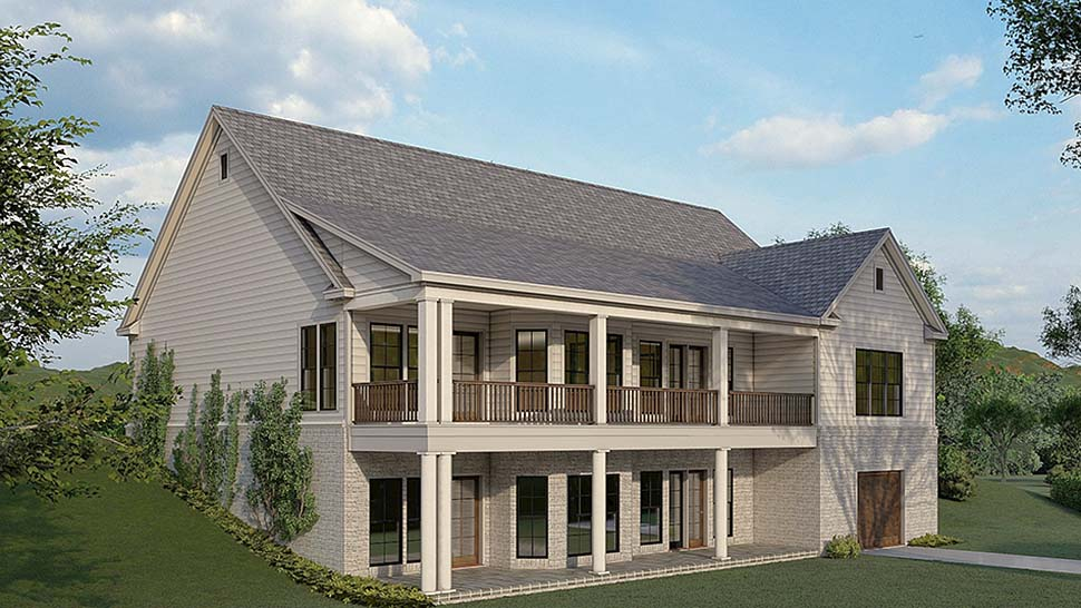 Traditional House Plan 82580 with 3 Beds, 4 Baths, 2 Car Garage Picture 3