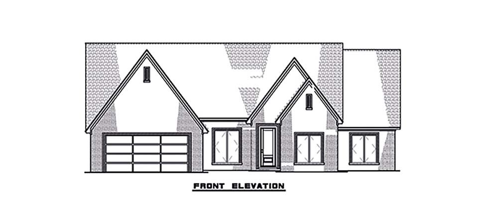 Contemporary, Craftsman, European House Plan 82590 with 4 Beds, 3 Baths, 2 Car Garage Picture 3