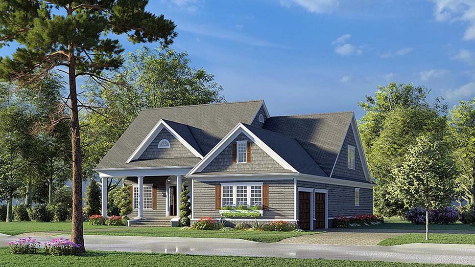 Bungalow, Coastal, Contemporary, Country, Craftsman, Farmhouse, Traditional House Plan 82593 with 4 Beds, 4 Baths, 2 Car Garage Picture 1