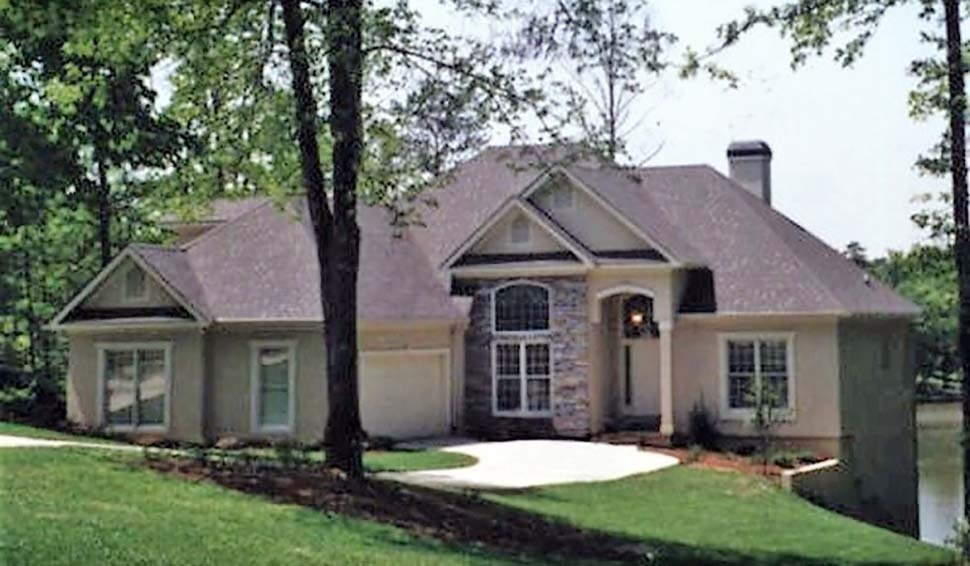 European, Traditional House Plan 83003 with 3 Beds, 4 Baths, 2 Car Garage Picture 2