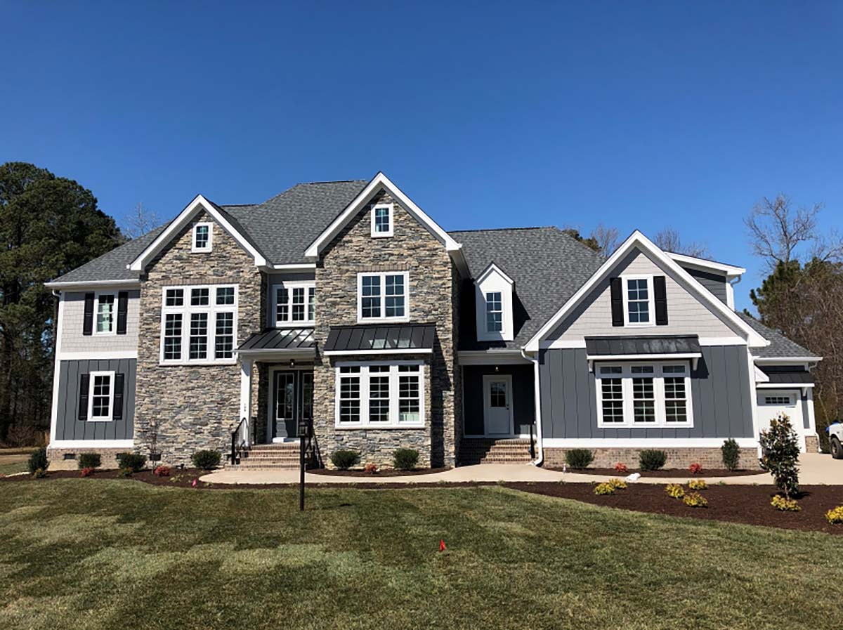 European, Modern, Traditional House Plan 83112 with 5 Beds, 5 Baths, 3 Car Garage Picture 1