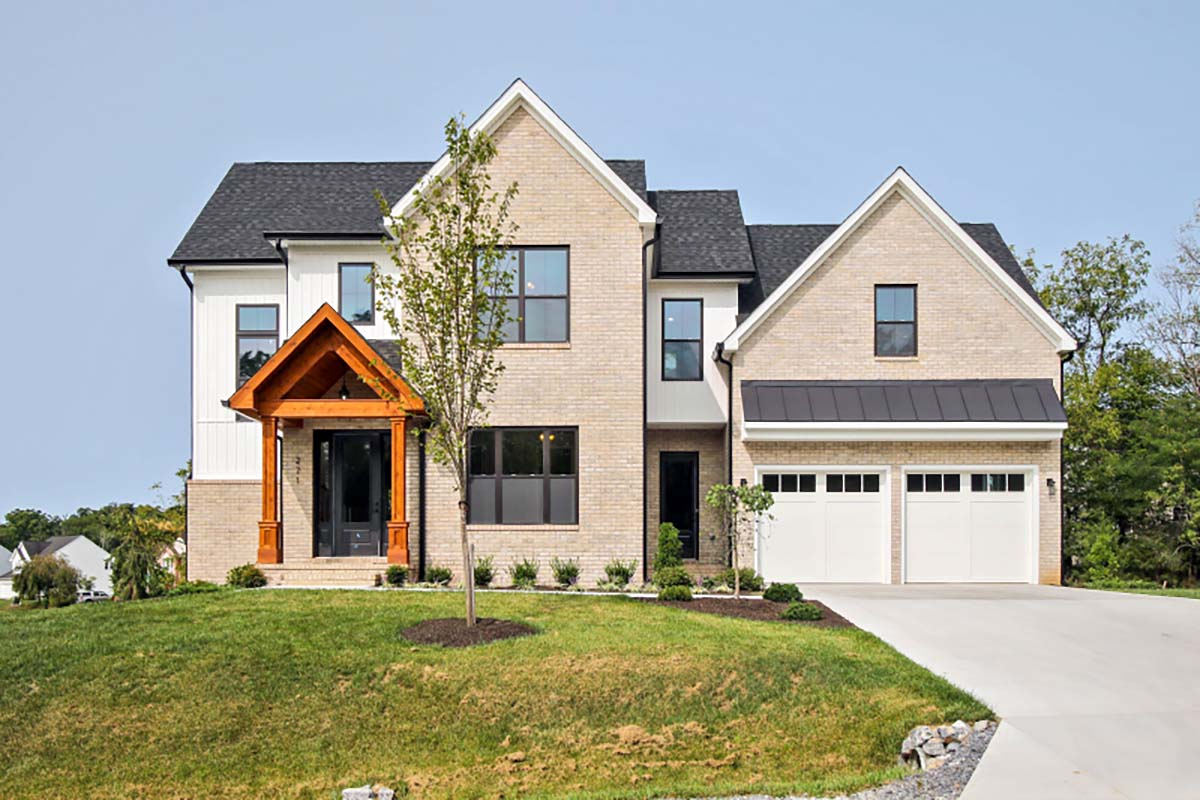 Craftsman, Traditional House Plan 83118 with 5 Beds, 3 Baths, 2 Car Garage Picture 1