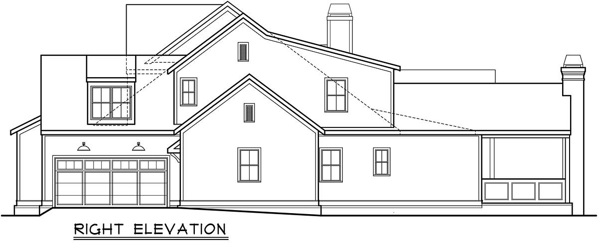 Country, European, Farmhouse, Traditional House Plan 83139 with 5 Beds, 6 Baths, 4 Car Garage Picture 1