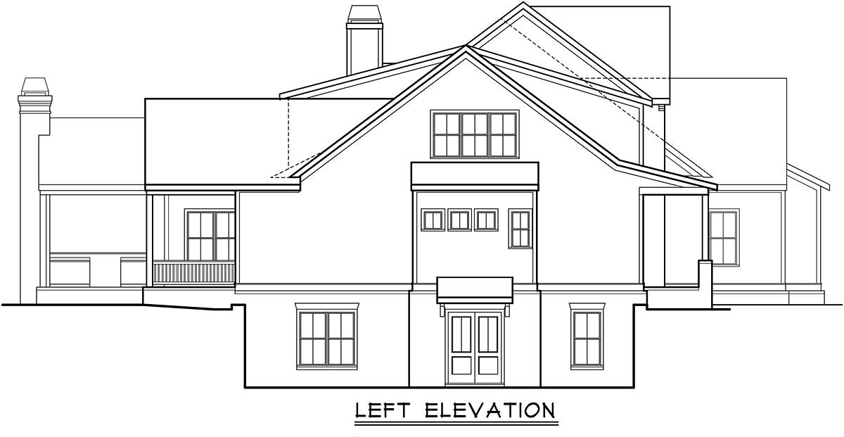 Country, European, Farmhouse, Traditional House Plan 83139 with 5 Beds, 6 Baths, 4 Car Garage Picture 2