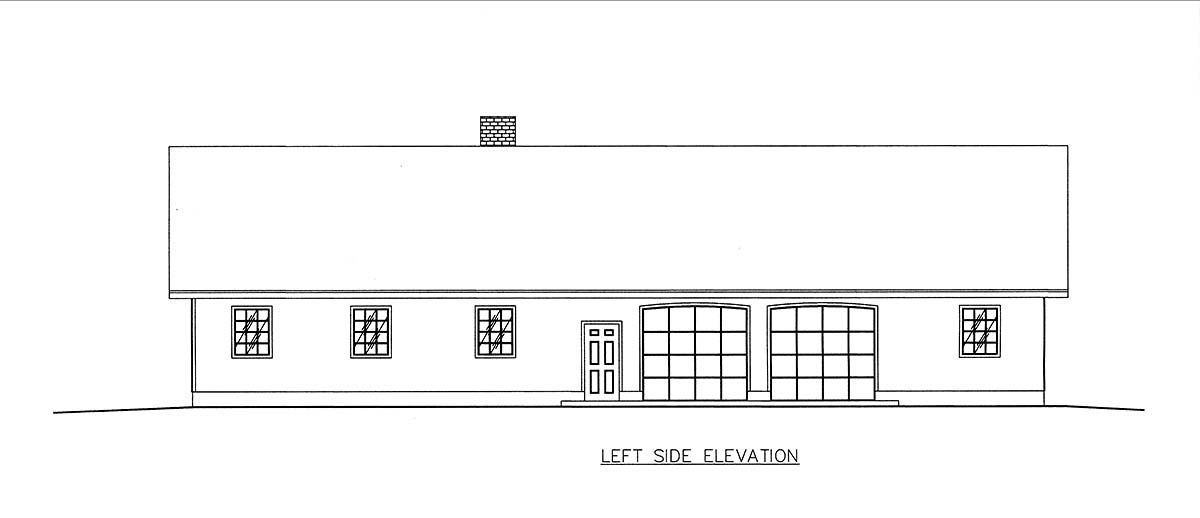 Craftsman, Ranch, Southern House Plan 85205 with 2 Beds, 3 Baths, 2 Car Garage Picture 2