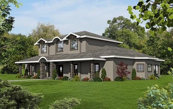European, Traditional House Plan 85220 with 7 Beds, 8 Baths Elevation