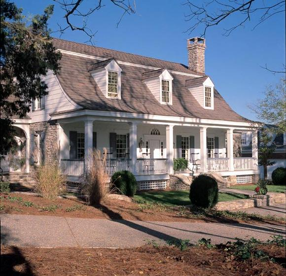 Colonial, Cottage, Country, Farmhouse, Plantation, Traditional House Plan 86164 with 4 Beds, 5 Baths, 3 Car Garage Elevation