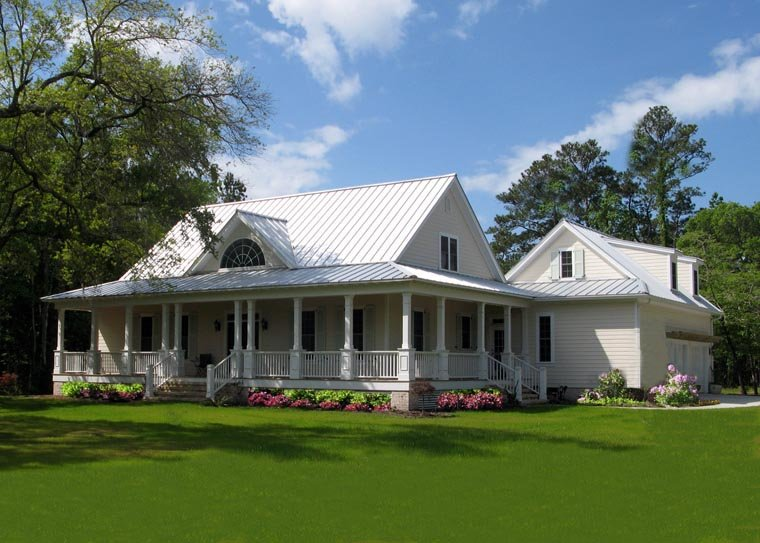 Country, Farmhouse, Traditional House Plan 86189 with 4 Beds, 3 Baths, 2 Car Garage Picture 1