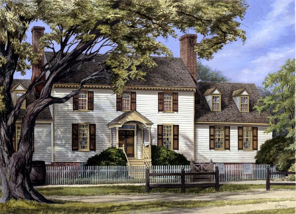 Colonial, Plantation, Traditional House Plan 86336 with 4 Beds, 6 Baths, 2 Car Garage Elevation