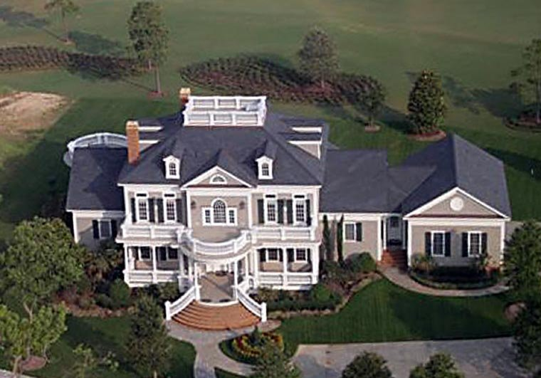 Plantation, Southern House Plan 86340 with 4 Beds, 6 Baths, 3 Car Garage Picture 3