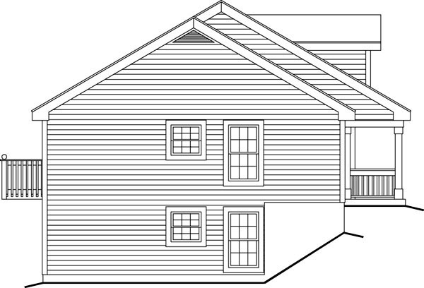 Cape Cod, Country, Ranch Multi-Family Plan 86977 with 5 Beds, 5 Baths Picture 1