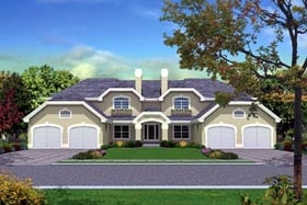 Plan Number 87349 - 4240 Square Feet