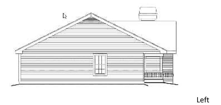 Country House Plan 87392 with 3 Beds, 2 Baths Picture 1