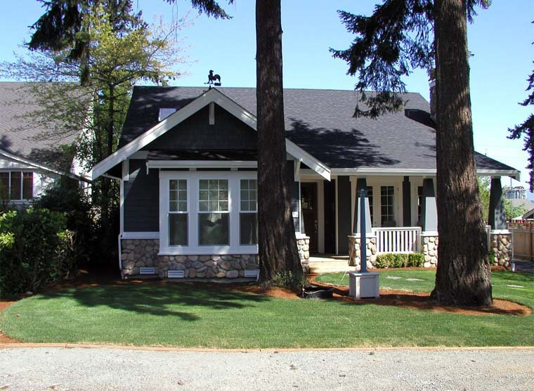 Bungalow, Craftsman House Plan 87523 with 5 Beds, 3 Baths, 2 Car Garage Picture 4