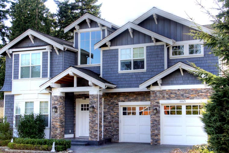 Craftsman House Plan 87671 with 5 Beds, 5 Baths, 3 Car Garage Picture 10