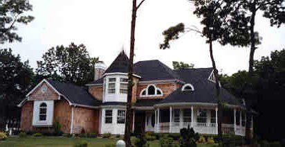 Victorian House Plan 90602 with 4 Beds, 3 Baths, 2 Car Garage Picture 9