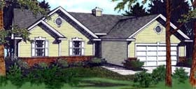 Plan Number 90705 - 1453 Square Feet