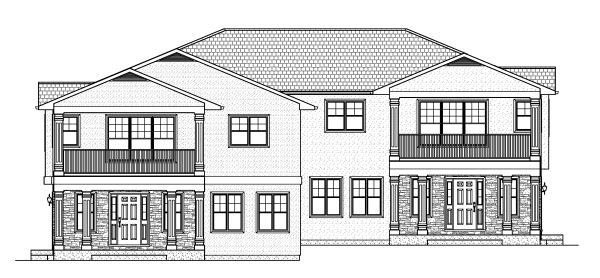 Multi-Family Plan 90888 with 10 Beds, 6 Baths, 4 Car Garage Picture 3