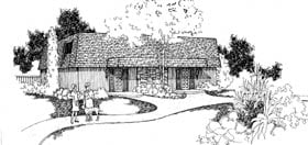 Contemporary Multi-Family Plan 91331 with 6 Beds, 4 Baths Elevation