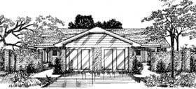 Plan Number 92293 - 2092 Square Feet