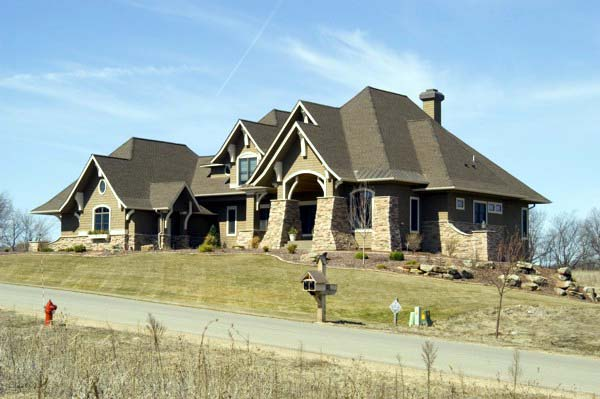 Craftsman House Plan 92351 with 5 Beds, 4 Baths, 3 Car Garage Picture 1