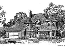 Plan Number 94017 - 2580 Square Feet