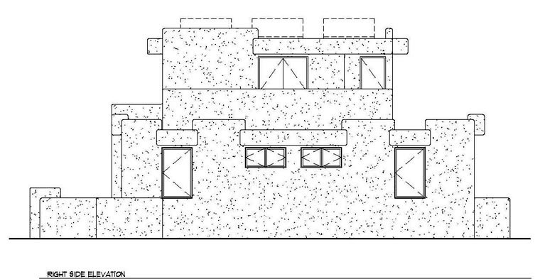 Santa Fe, Southwest House Plan 94304 with 3 Beds, 2 Baths Picture 2