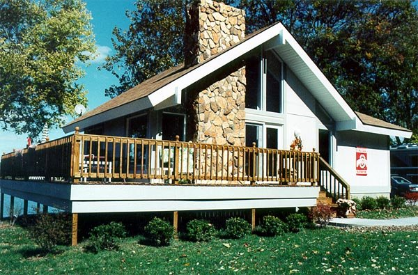 Cabin House Plan 94307 with 2 Beds, 2 Baths Picture 3