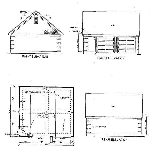 Cottage, Country, Craftsman, Farmhouse House Plan 95541 with 3 Beds, 2 Baths, 2 Car Garage Picture 6