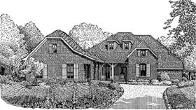 Plan Number 95740 - 2672 Square Feet