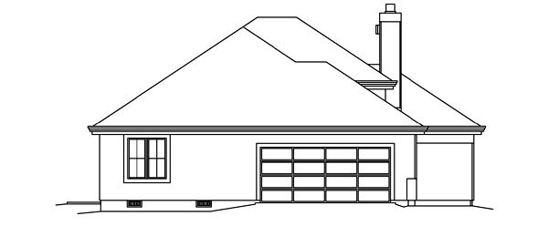 Contemporary, Florida, Ranch, Southwest House Plan 95858 with 3 Beds, 3 Baths, 2 Car Garage Picture 1