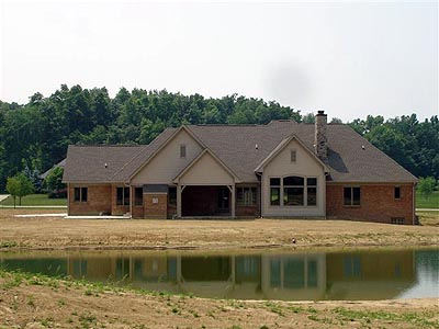 Bungalow, Country House Plan 97131 with 4 Beds, 3 Baths, 2 Car Garage Picture 2