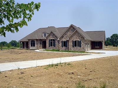 Bungalow, Country House Plan 97131 with 4 Beds, 3 Baths, 2 Car Garage Picture 3