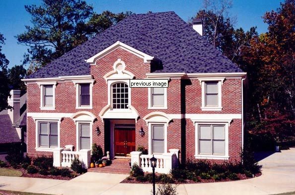 Colonial, European, Greek Revival House Plan 98206 with 4 Beds, 4 Baths, 3 Car Garage Picture 1