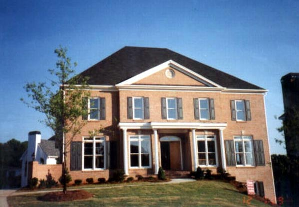 Colonial, European, Greek Revival House Plan 98206 with 4 Beds, 4 Baths, 3 Car Garage Picture 2