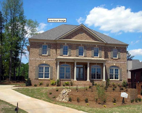 Colonial, European, Greek Revival House Plan 98206 with 4 Beds, 4 Baths, 3 Car Garage Picture 3