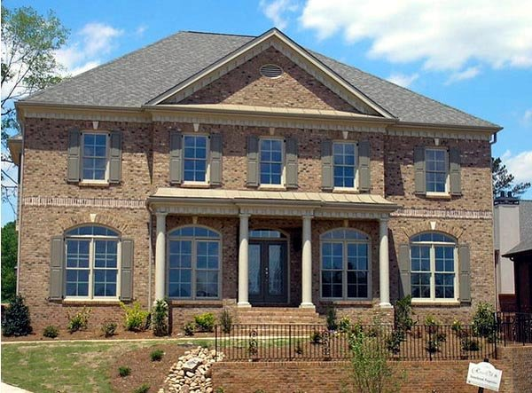 Colonial, European, Greek Revival House Plan 98206 with 4 Beds, 4 Baths, 3 Car Garage Picture 6