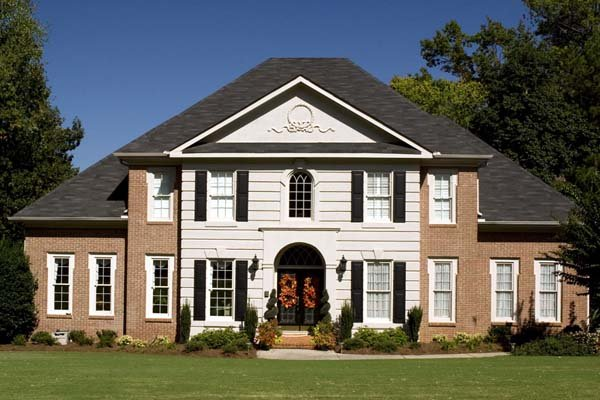 Colonial, European, Greek Revival House Plan 98220 with 4 Beds, 4 Baths Picture 1