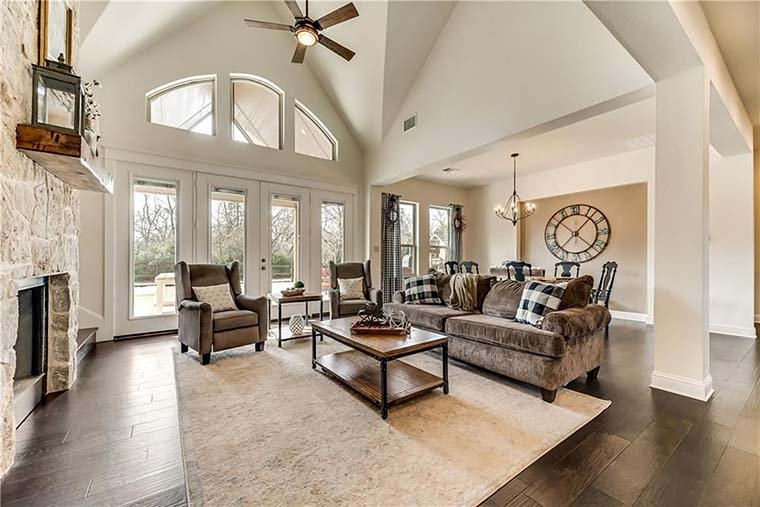 Country, Craftsman, Traditional, Tudor House Plan 98267 with 3 Beds, 4 Baths, 3 Car Garage Picture 5