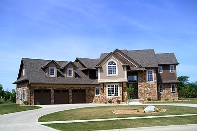 European House Plan 99118 with 4 Beds, 4 Baths, 3 Car Garage Picture 5