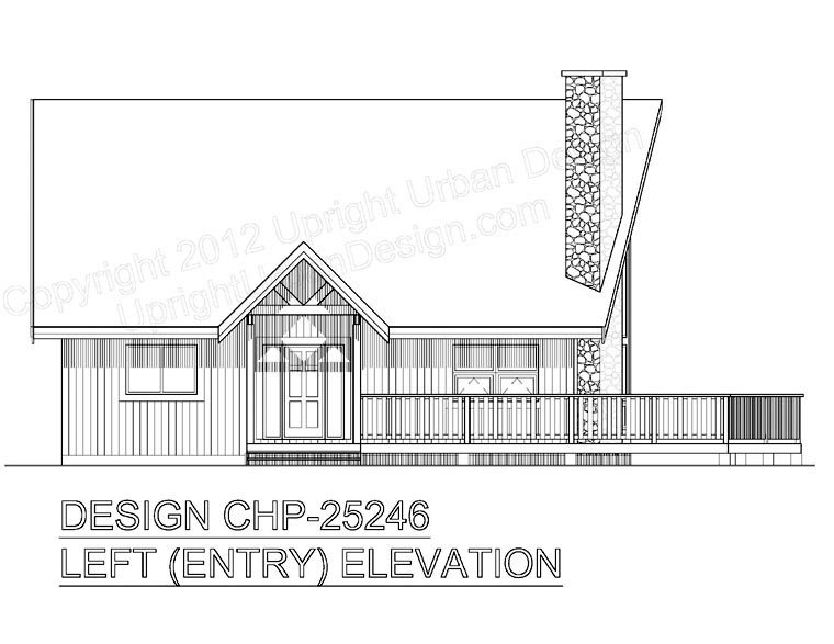 Contemporary House Plan 99914 with 2 Beds, 2 Baths Picture 3