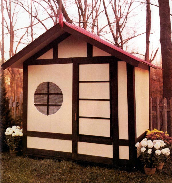 504135 - Playhouse Storage Shed
