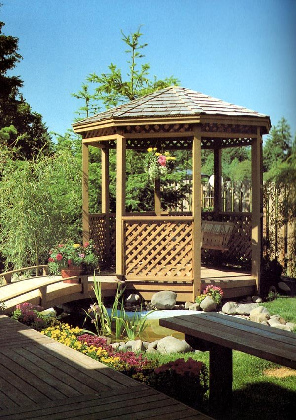 504383 - Eight-Sided Gazebo