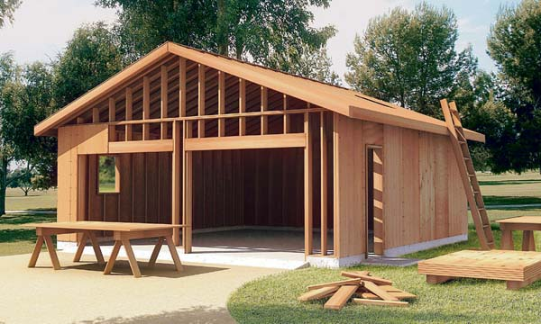 6022 - The How-to-Build Garage Plan