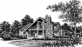 Plan Number 43004 - 1285 Square Feet